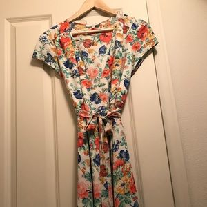 Wayf wrap dress from Nordstrom